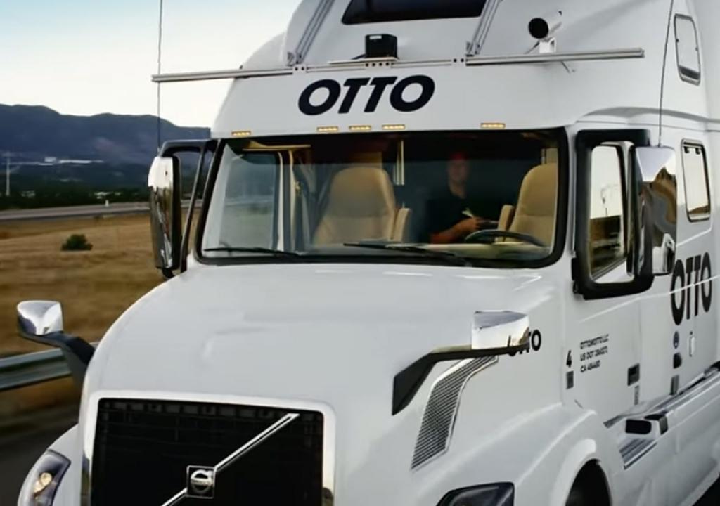 Caminhão sem motorista rodando por aí, realidade ou ficção?